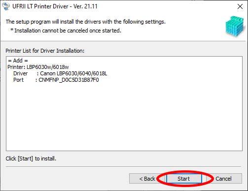 download driver wifi cho máy in canon 6030w