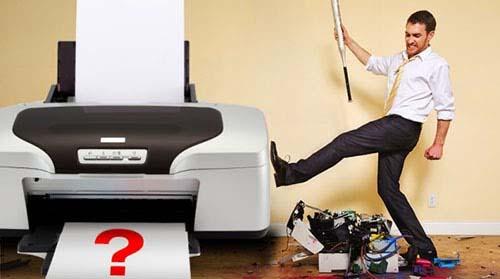 Khắc phục lỗi máy in không in được